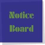 Keep up to date with news, classes and exciting announcements on our notice board