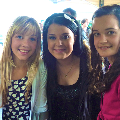 Famous 4.15, Tracy Beaker, filming, on set, dance, sing, act, crew, performing arts