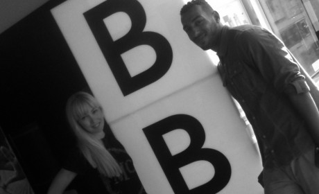 A day at the BBC - Katherine and Jermaine Johnson, workshops, dance workshop, north east, Famous4.15, dance, singing drama