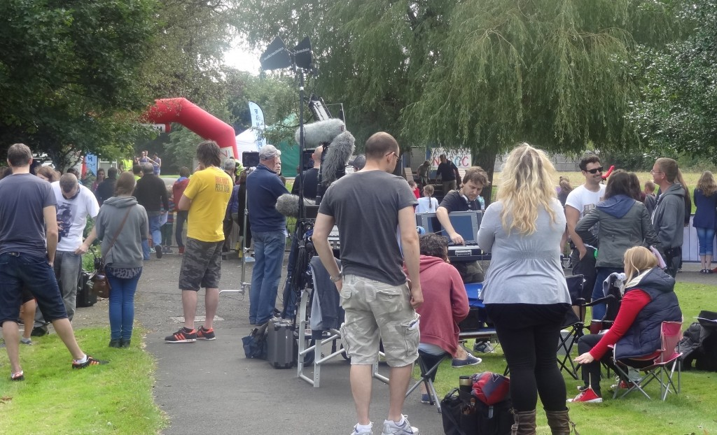 """Lights! Camera! Action! Famous 4.15 Drama on the set of BBC's """"The Dumping Ground"""""""