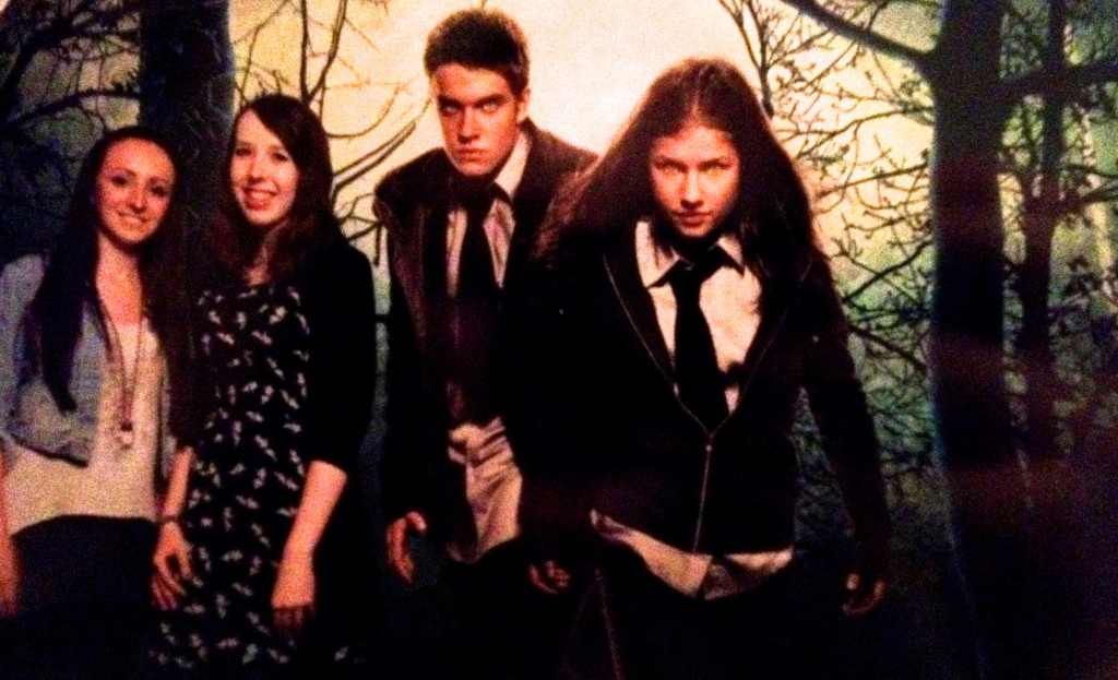 """Famous 4.15 kids at the premiere of """"WolfBlood"""" trailers out now, drama."""