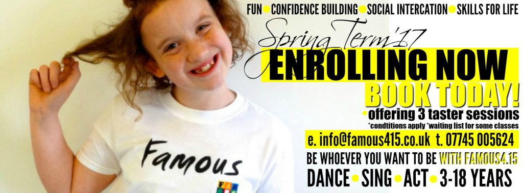 Enrolling NOW! Spring term'17! :)