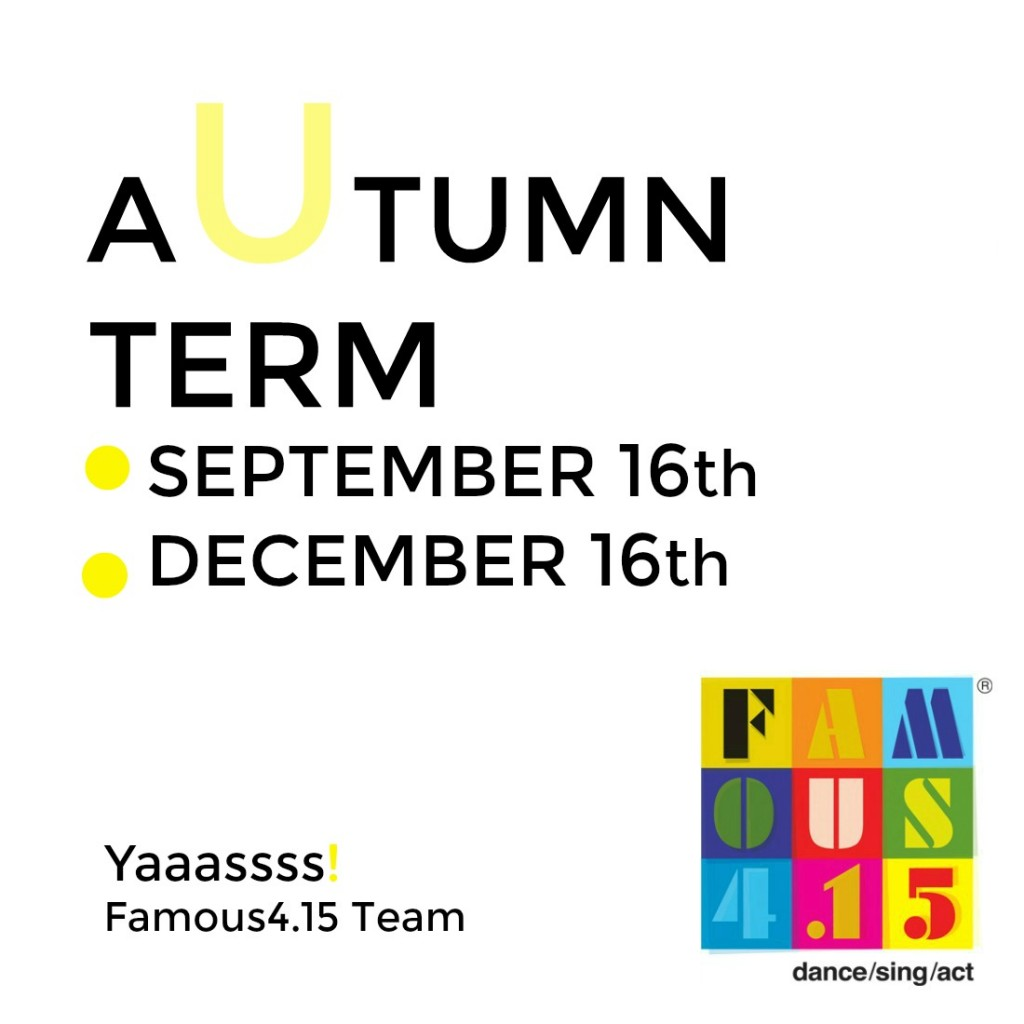 F415, Autumn, Term, kids, Sing, Dance, Act, Gosforth, Performing Arts, Newcastle