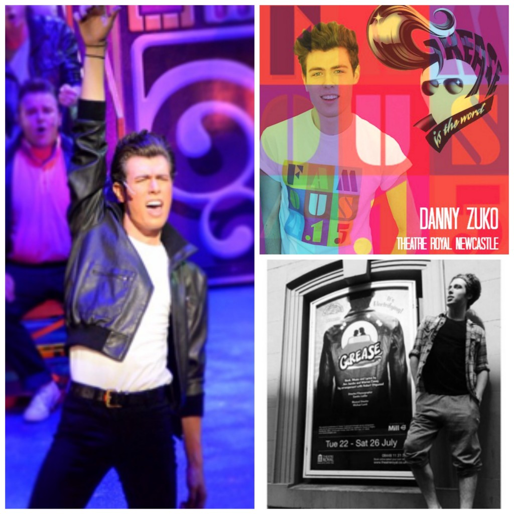 Grease, Theatre Royal Newcastle, Sing, dance, act, Danny Zuko