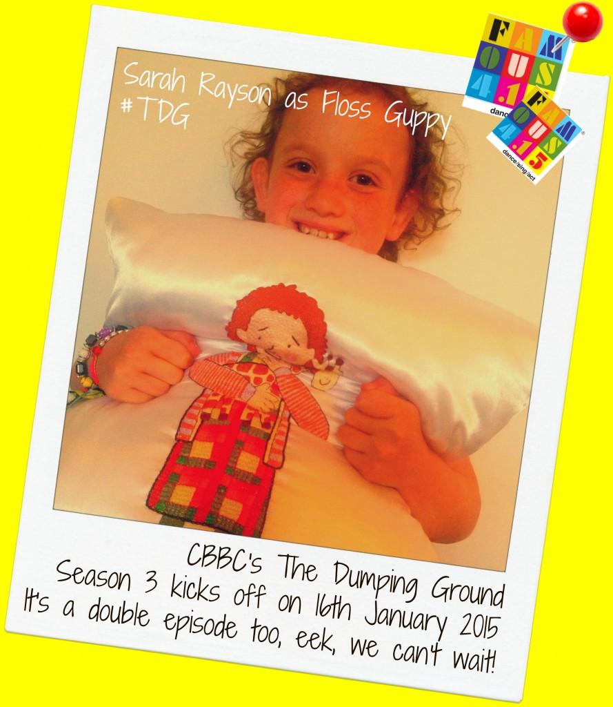 CBBC, TV, Children's tv, acting, bbc, Sarah Rayson, Floss Guppy,