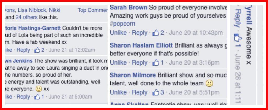 Famous4.15 - Famously fabulous feedback