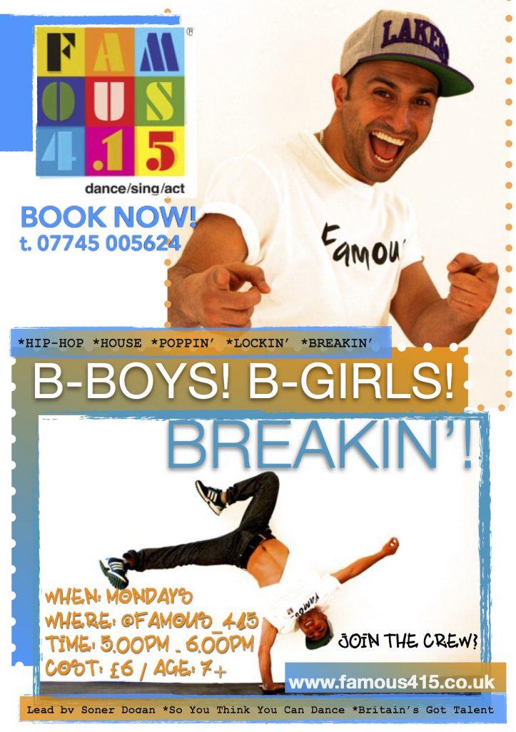 Boys, Girls, Breakin', Dance