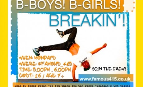 Famous4.15, Breakin', Boys, Girls, Dance, Poppin, Locking,