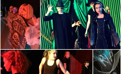 Famous4.15, Halloween, show, act, sing, dance, perform, live