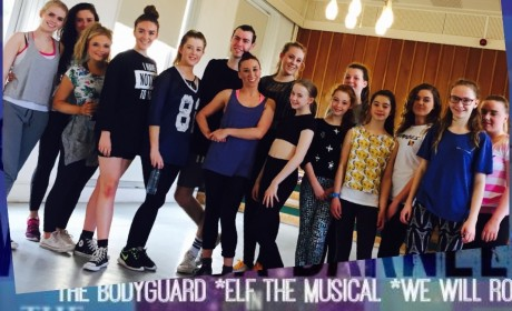 The Bodyguard, Musical, dance, pro class, jazz, commercial, fitness