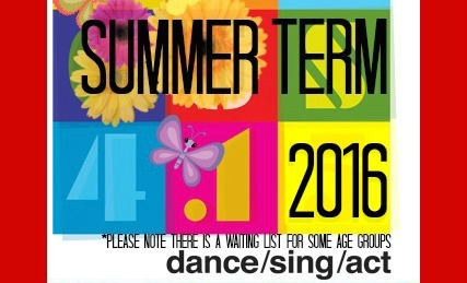 Famous4.15, Summer Term', sing, dance, act, perform,