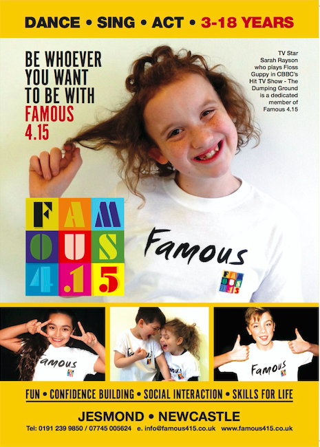 Famous4.15, Floss, CBBC, The Dumping Ground